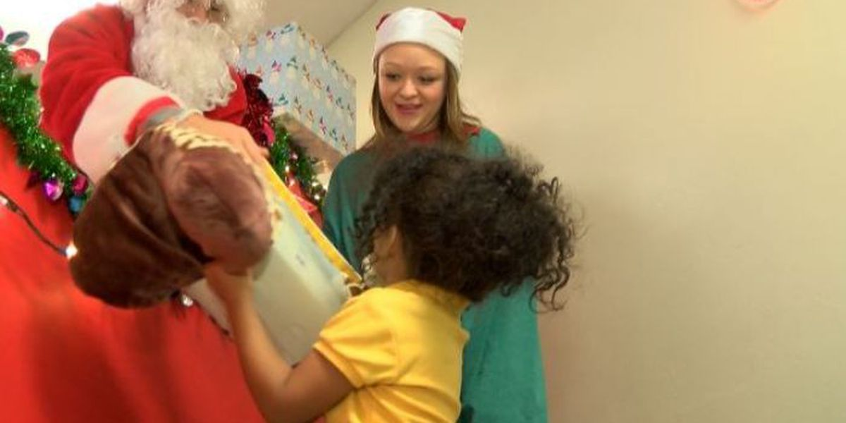 FCA at PRCC hosts Christmas party for special needs children
