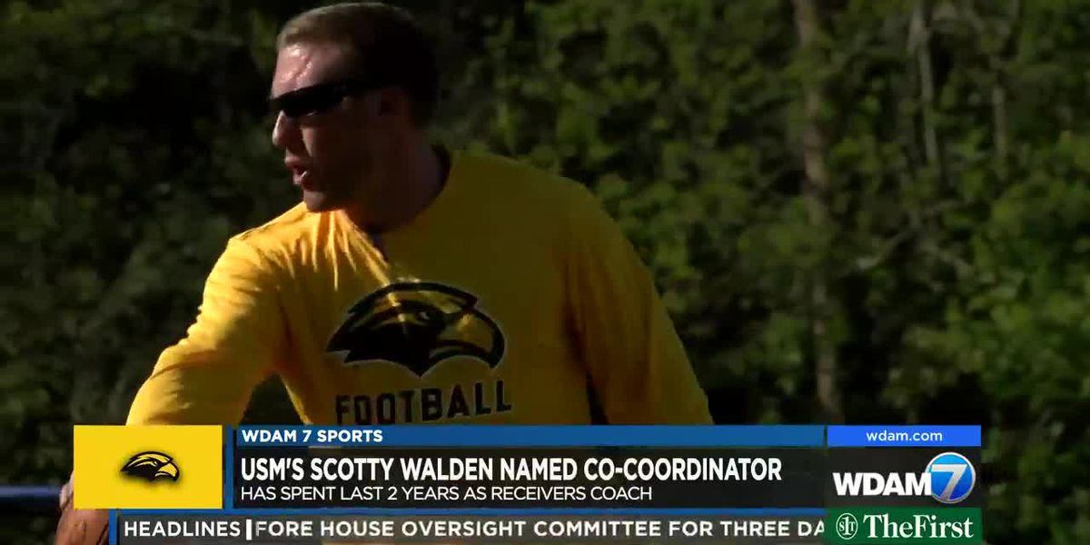 USM's Scotty Walden promoted to co-offensive coordinator