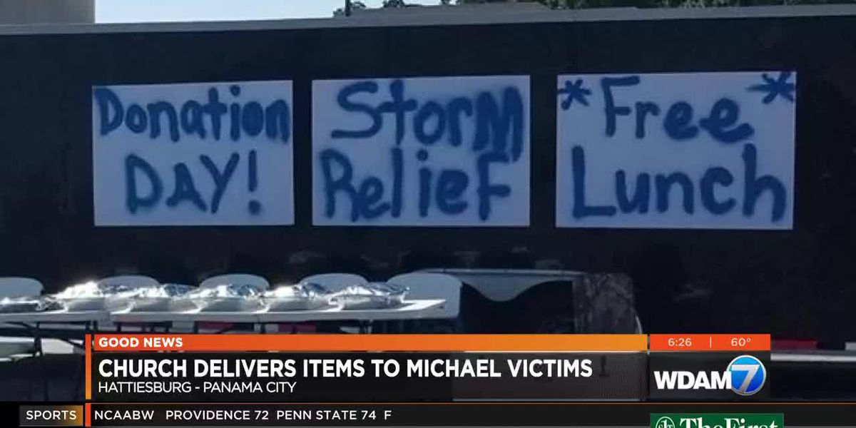 Good News: Sumrall church delivers blessings to hurricane victims