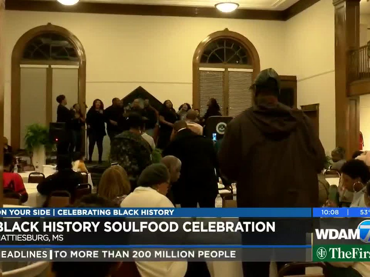 Hattiesburg hosts Black History celebration with soul food