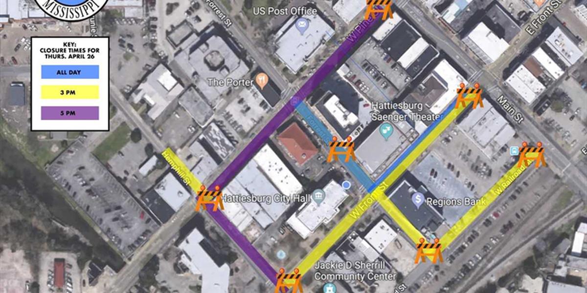 LIST: Hattiesburg to close roads for Jimmy Buffett concert