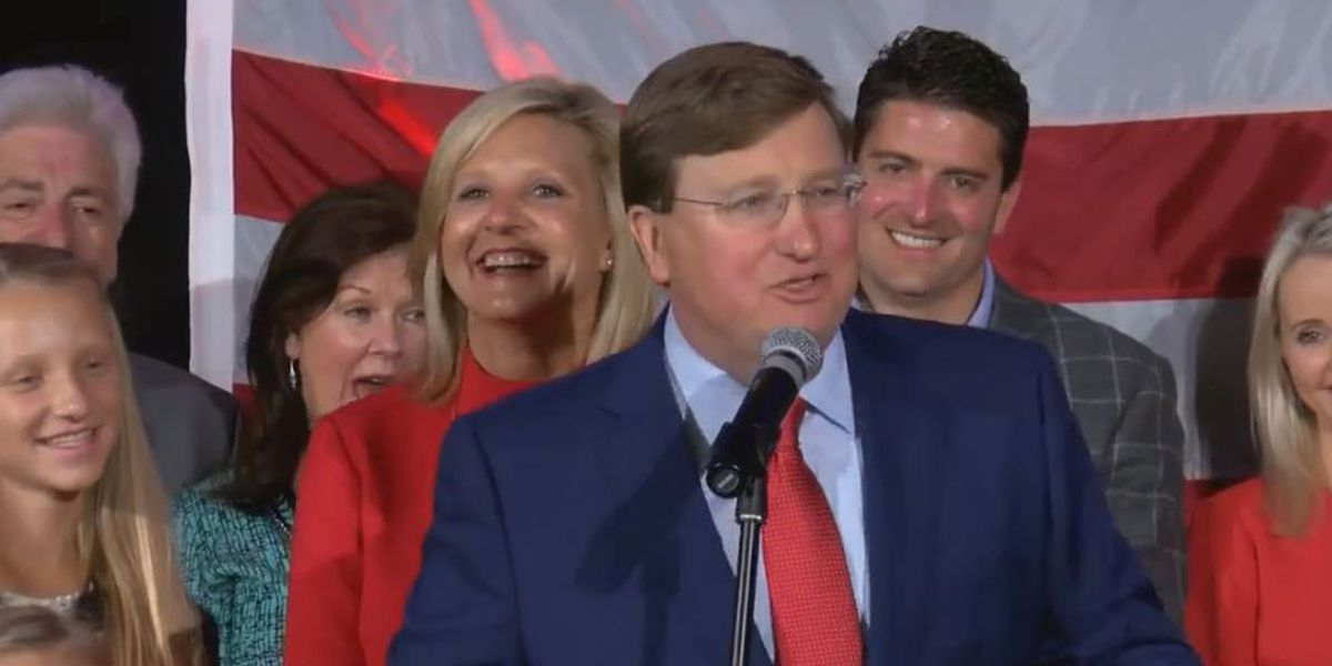 Tate Reeves wins competitive race against Jim Hood for Mississippi governor