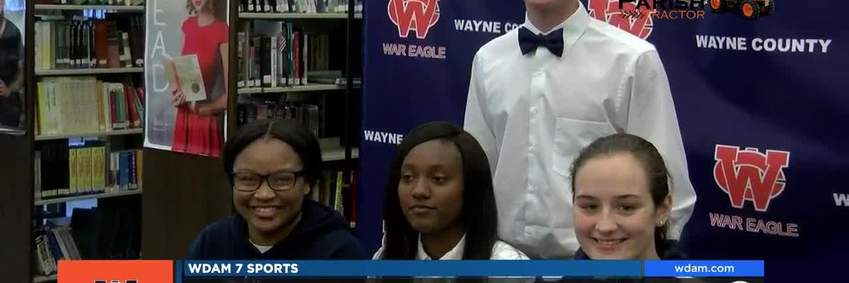Four War Eagles sign athletic scholarships