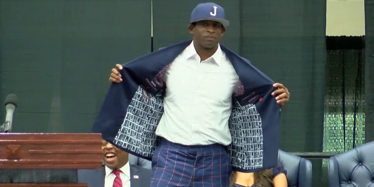 'I believe': Deion Sanders spreads positivity at introduction as JSU head coach