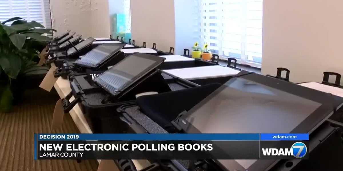 Lamar County installs new electronic poll books ahead of election