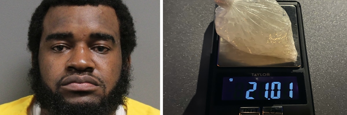 Hattiesburg man arrested on felony drug charges Tuesday