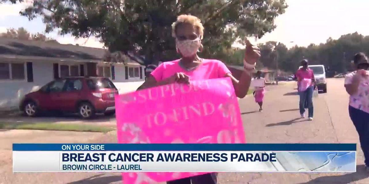 Laurel Housing Authority holds breast cancer awareness parade