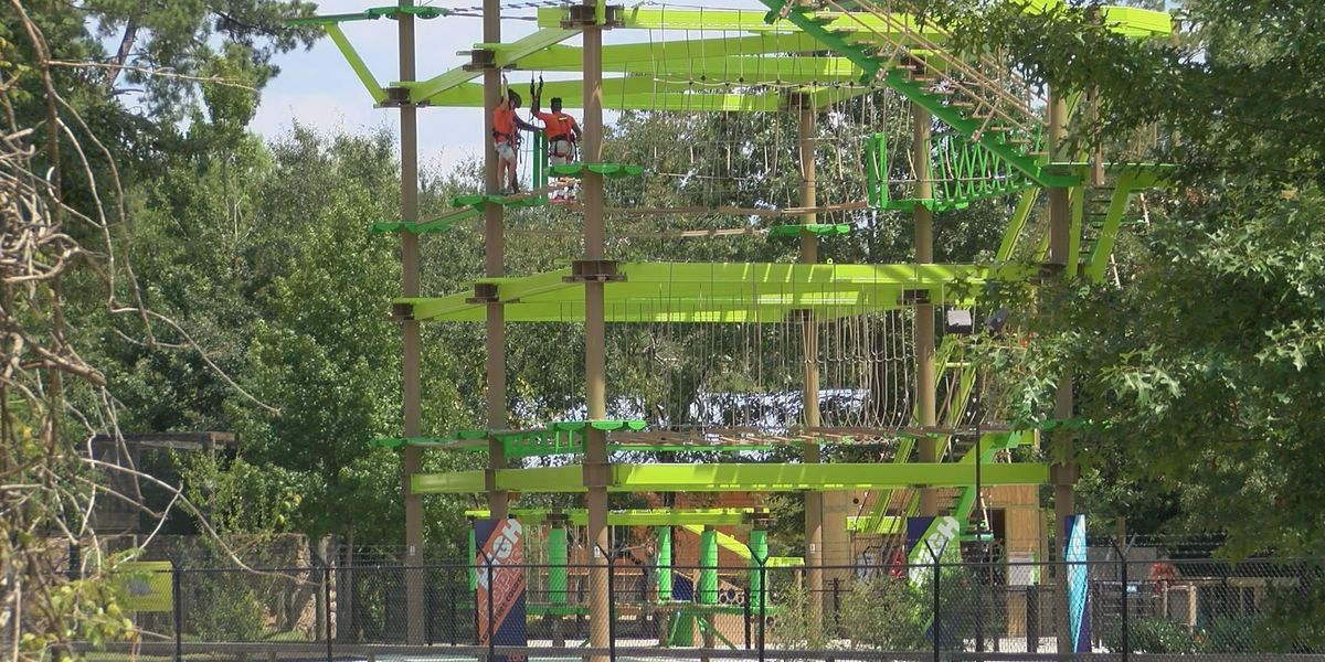 New High Ropes Adventure Course opens at Hattiesburg Zoo
