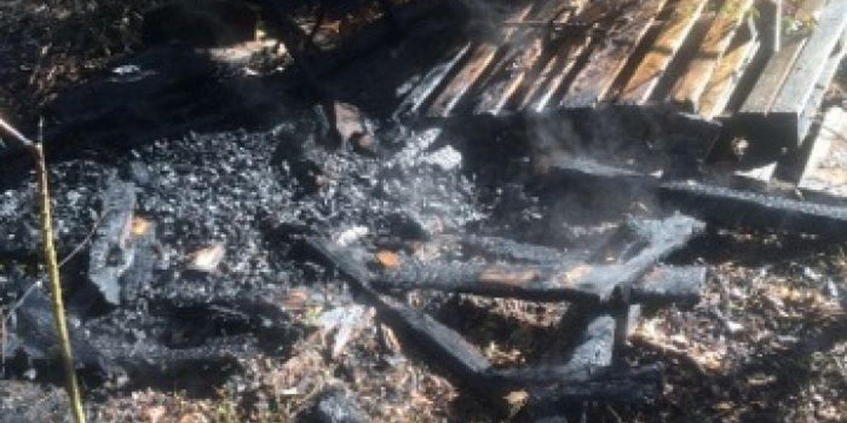 Jones Co. battles two separate fires