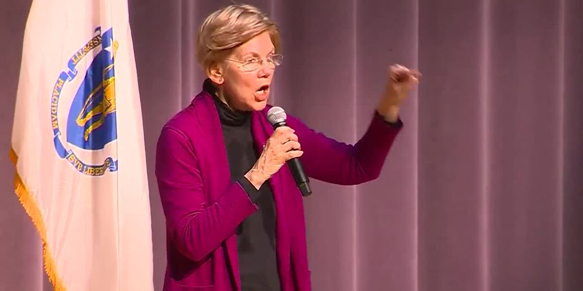 Warren hold first town hall since re-election, deflects 2020 questions