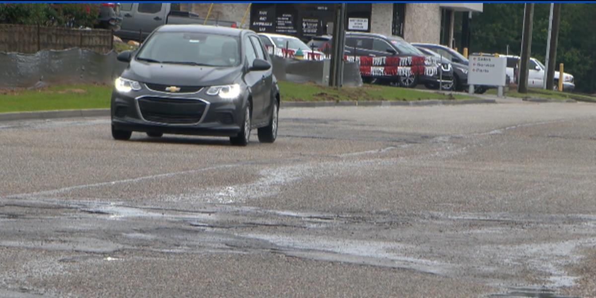Hattiesburg businesses react to construction on Lamar Boulevard