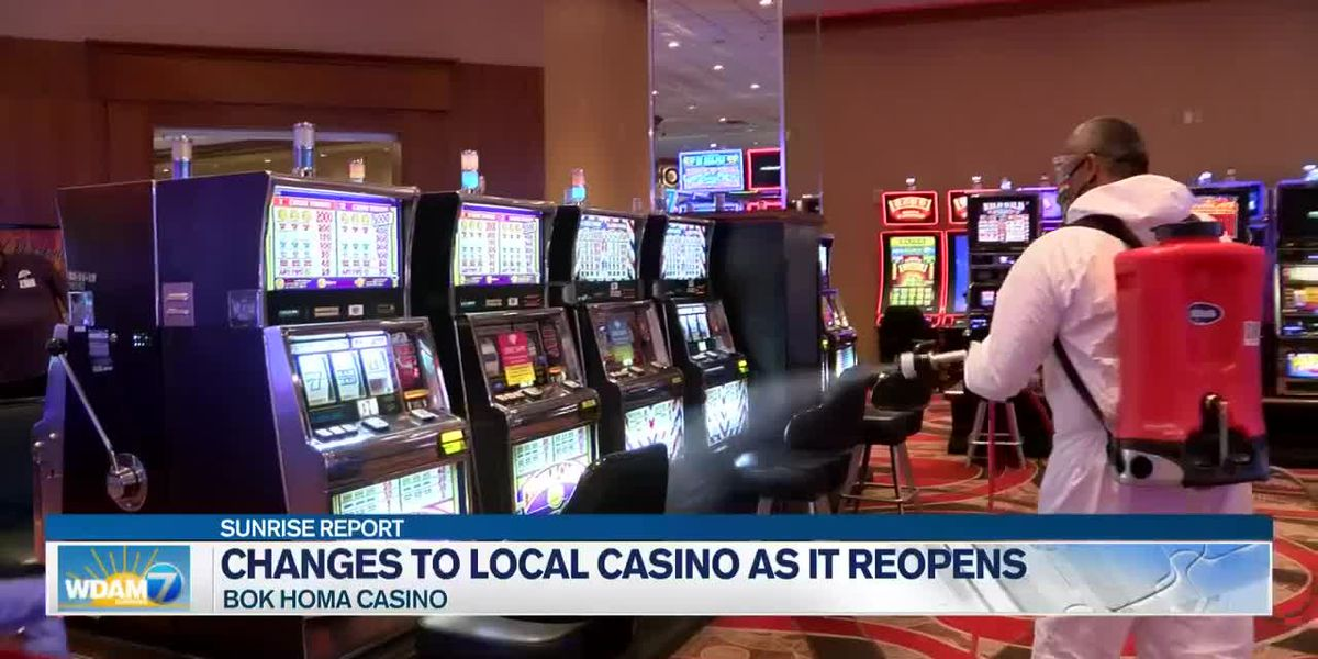 Bok Homa Casino reopens doors to public