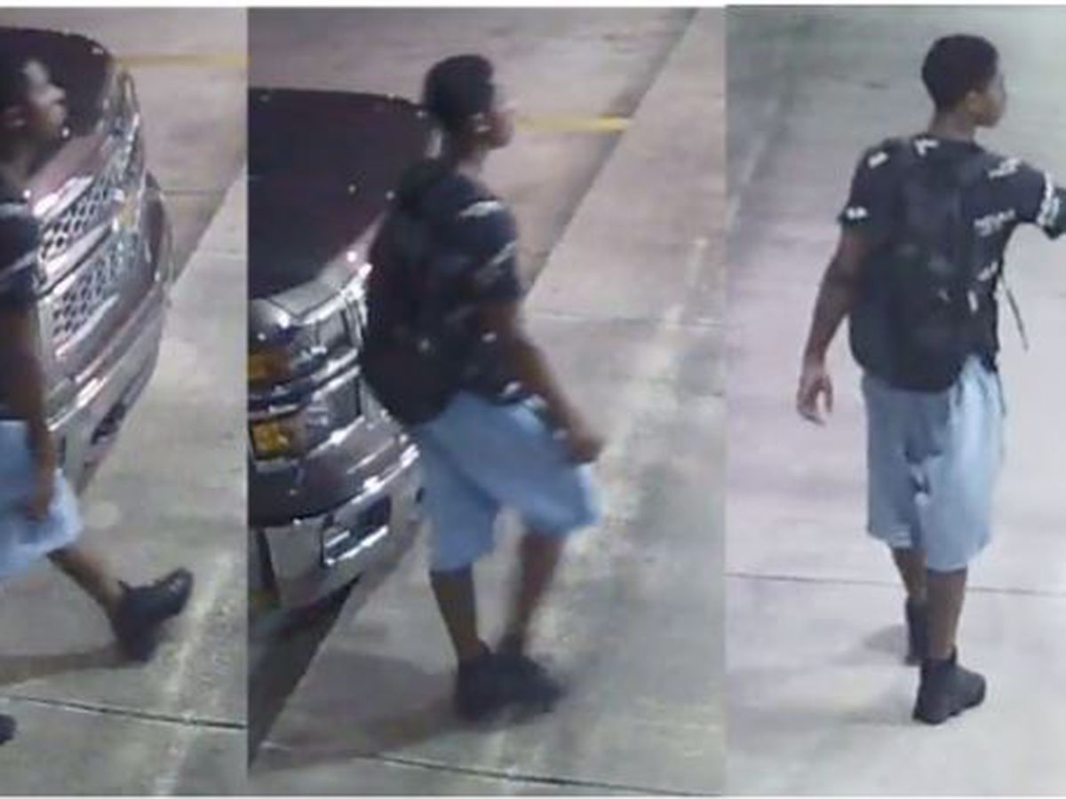 HPD working to identify auto burglary suspect