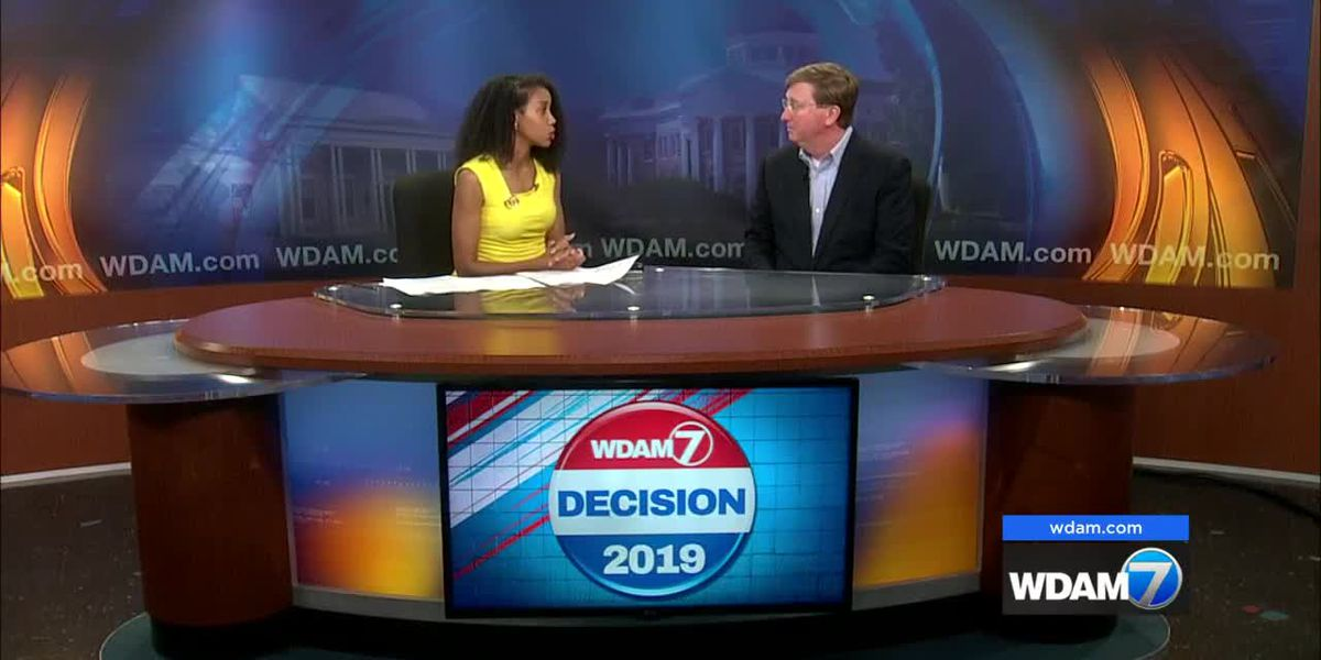 Republican nominee Reeves makes case for governor during WDAM visit