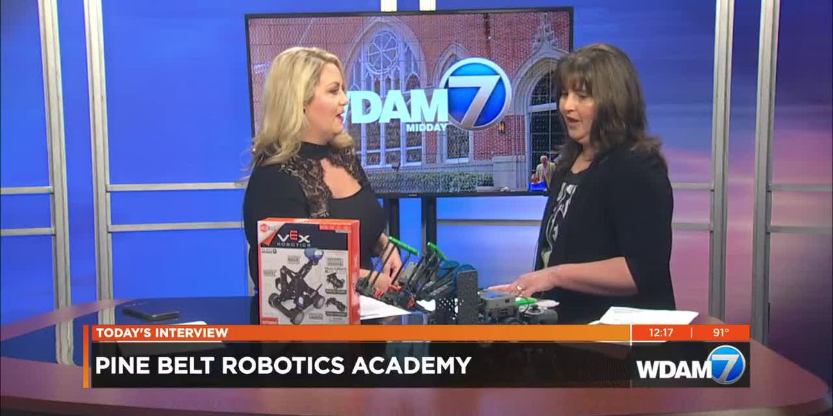 Midday Interview: Pine Belt Robotics Academy