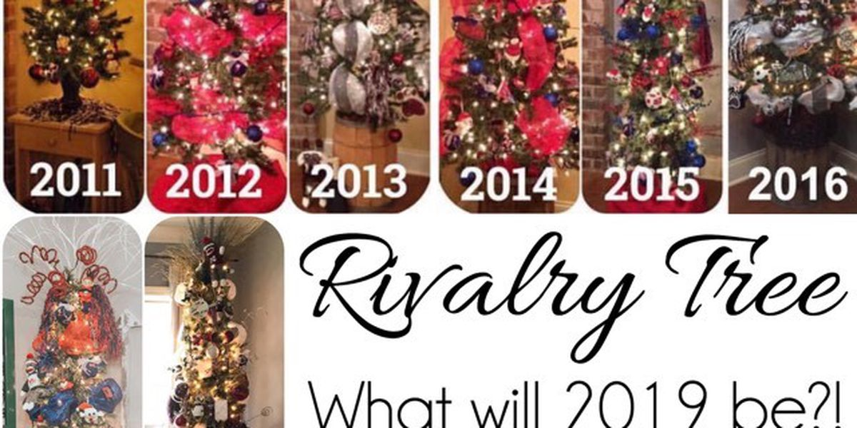 House divided couple creates Egg Bowl rivalry tree tradition