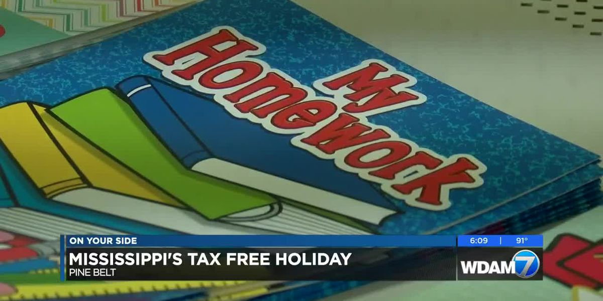 Mississippi's Tax Free Holiday to include school supplies
