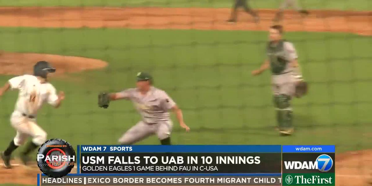Southern Miss stumbles against UAB, 3-2