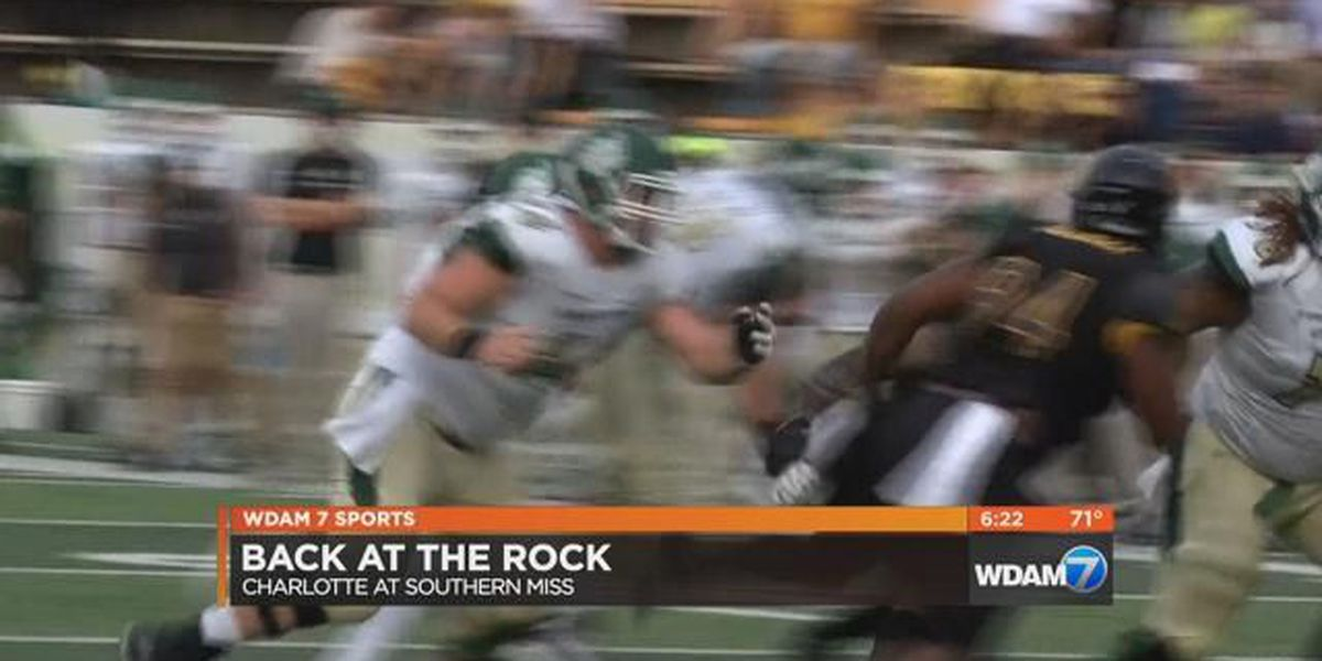 Southern Miss takes a hit in loss to Charlotte