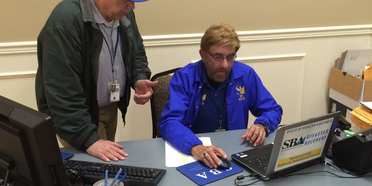 SBA opens business recovery center for storm victims