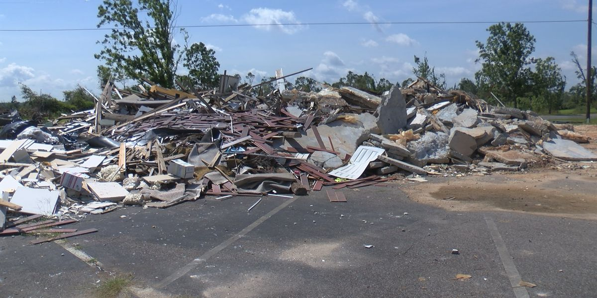 Easter tornado recovery efforts continue in Jones County