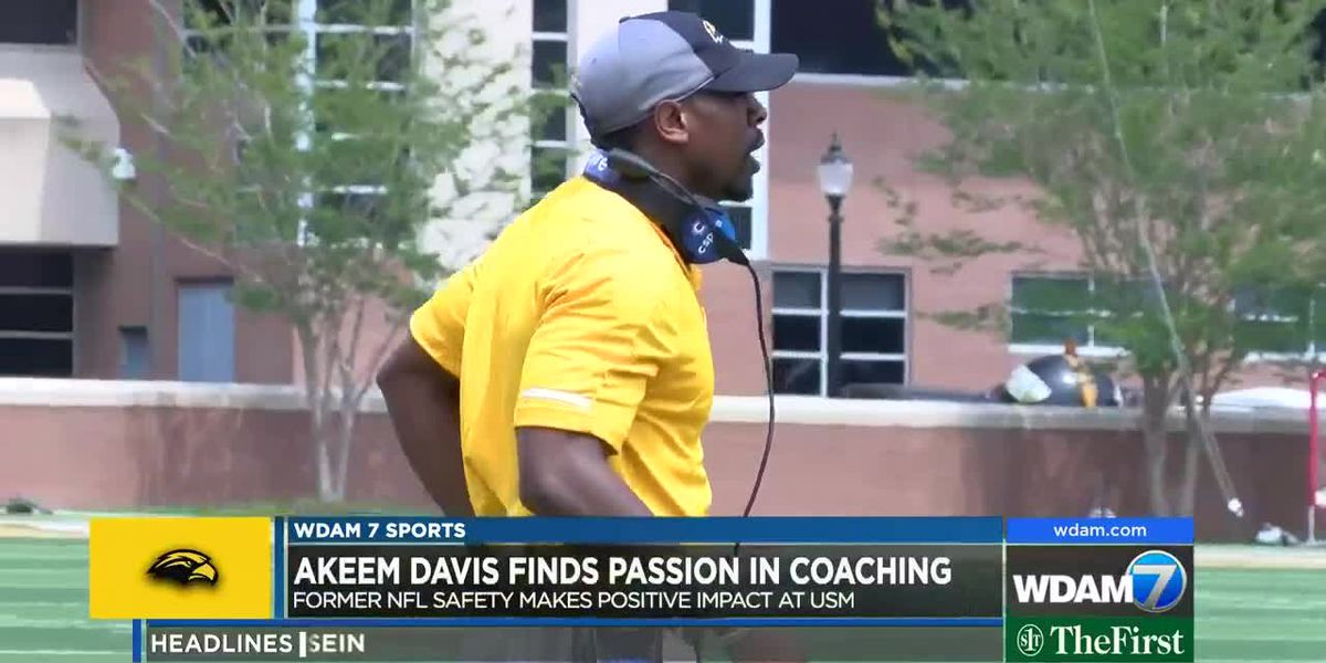 Laurel native and former NFL safety Akeem Davis finds new passion in coaching
