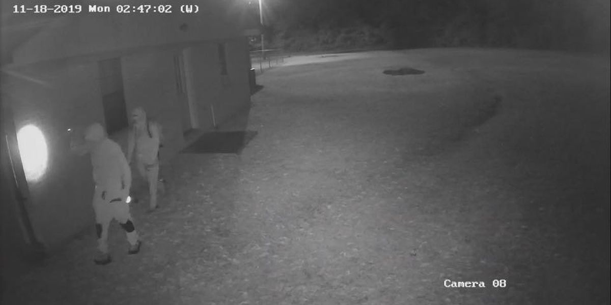 PHOTOS: Perry Co. Sheriff's Office searching for suspects in church burglary