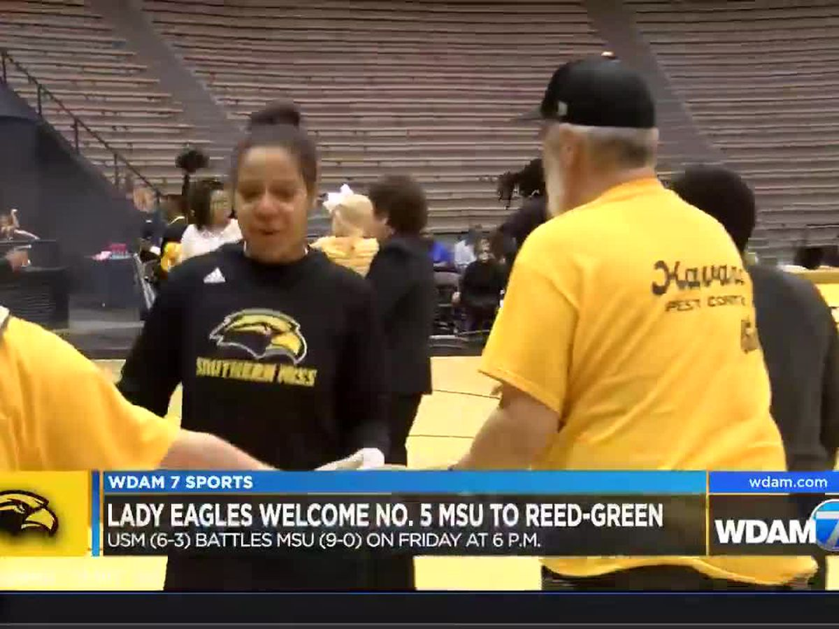 Lady Eagles welcome No. 5 MSU to Reed-Green