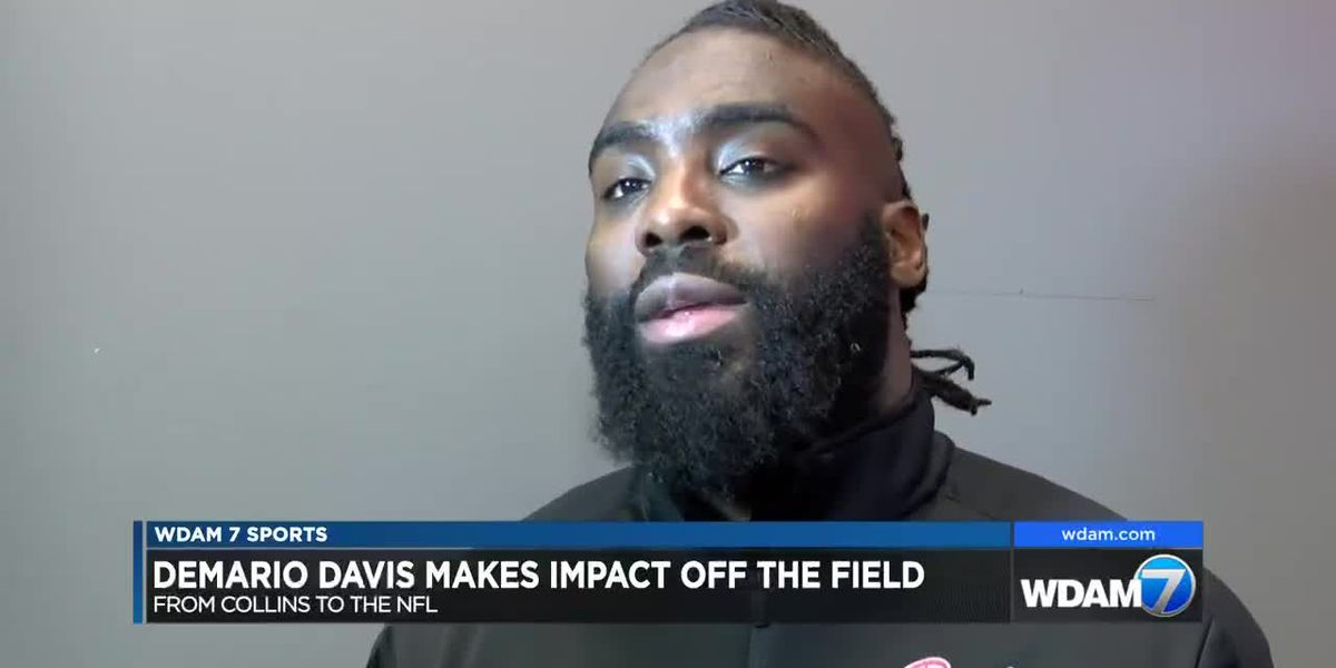 From Collins to the NFL, Demario Davis making impact on and off the field