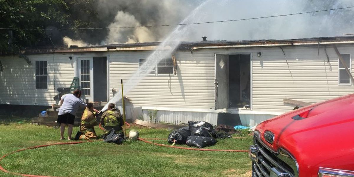Perry County family homeless after fire