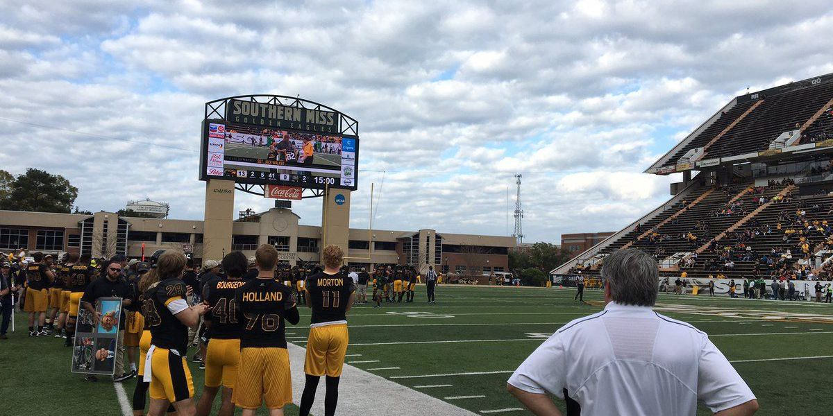 USM caps home football season with 66-21 rout of Charlotte