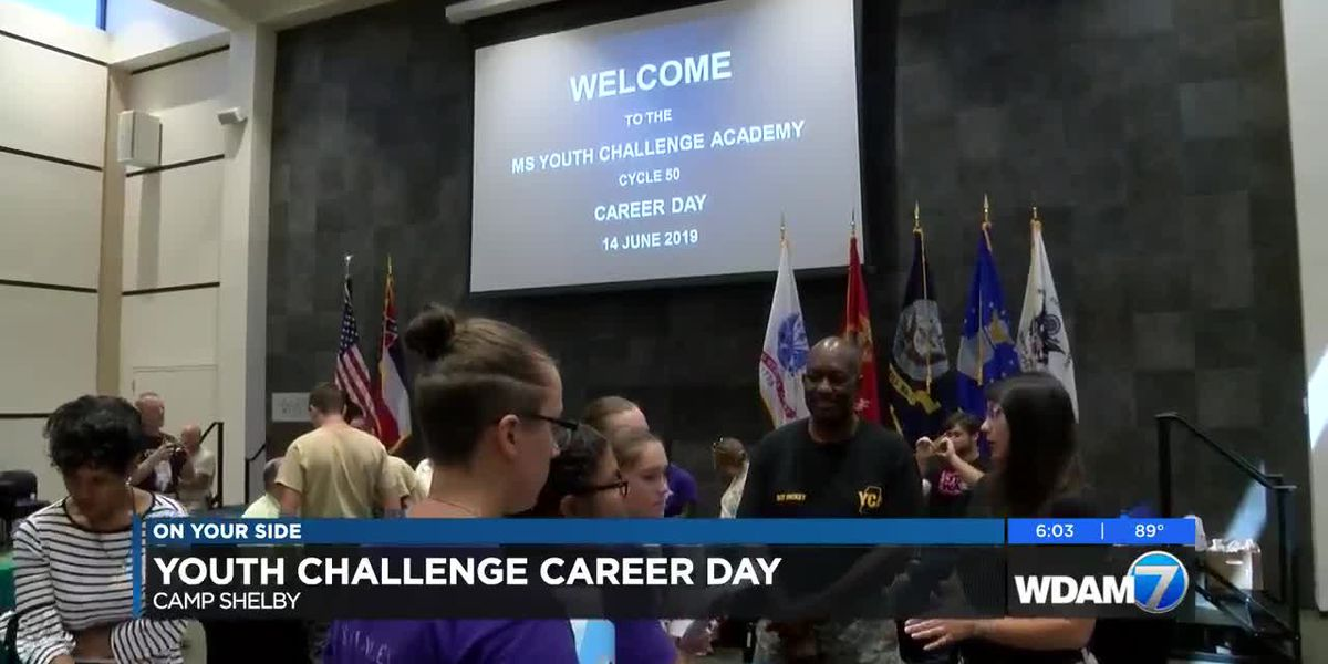 Career fair held for Youth Challenge cadets