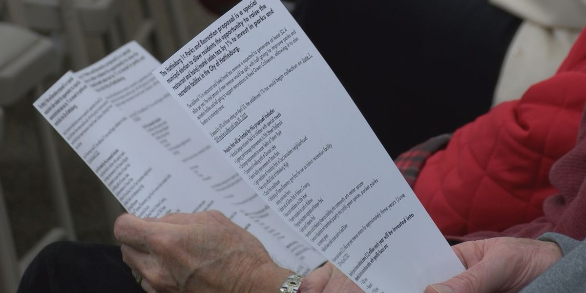 Hattiesburg mayor talks to residents about upcoming tax referendum