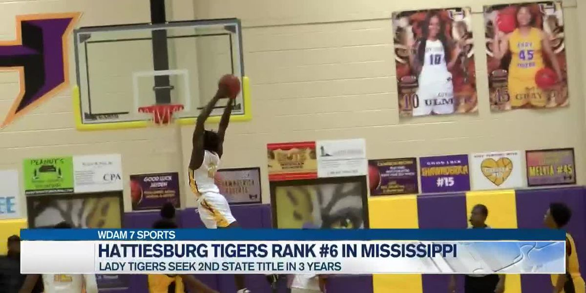 Hattiesburg Tigers playing competitive basketball