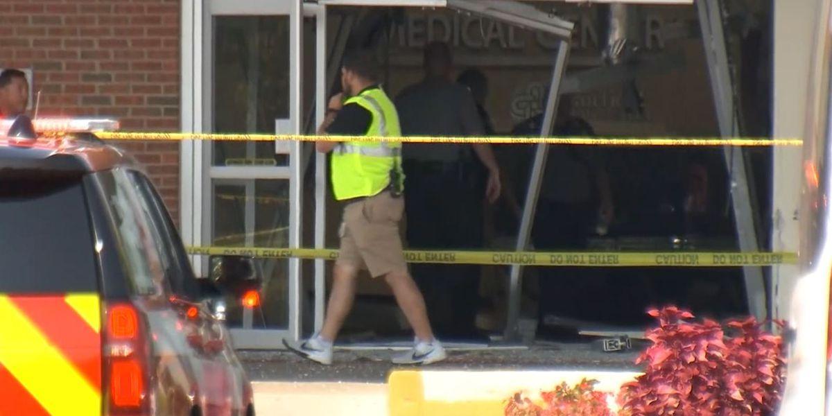 Police: Man crashes truck into Ohio hospital, killing employee