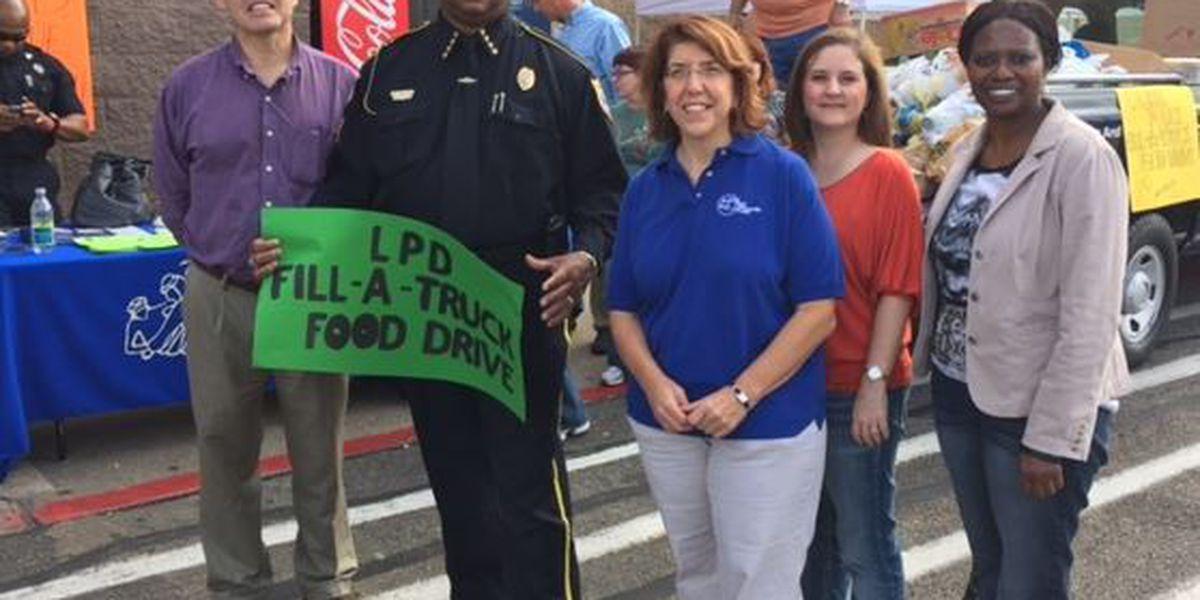 Laurel police host food drive