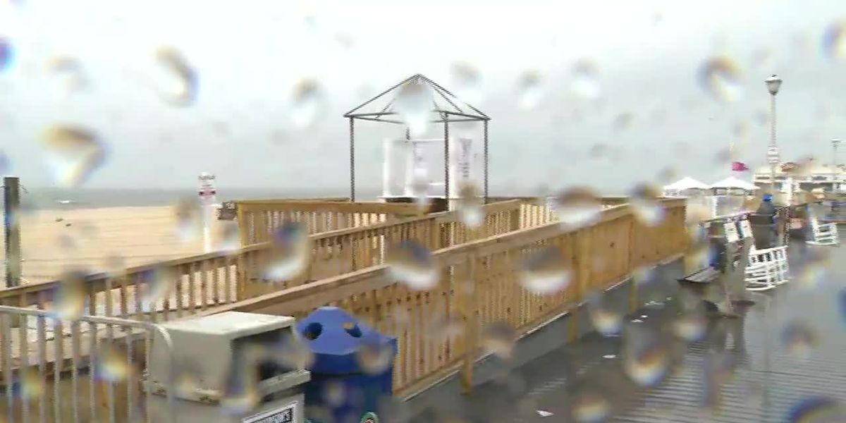 Tropical Storm Fay hammers NJ coast with rain