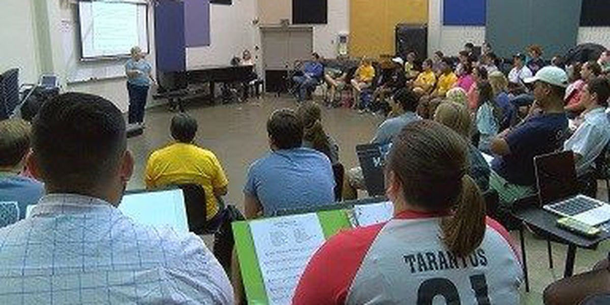 USM professor collecting music instruments for LA flood victims