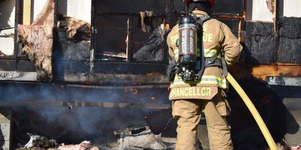Jones County home destroyed in fire