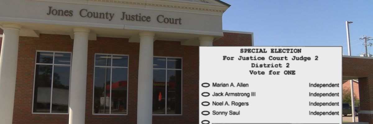 Four candidates running for District 2 Jones Co. Justice Court judge