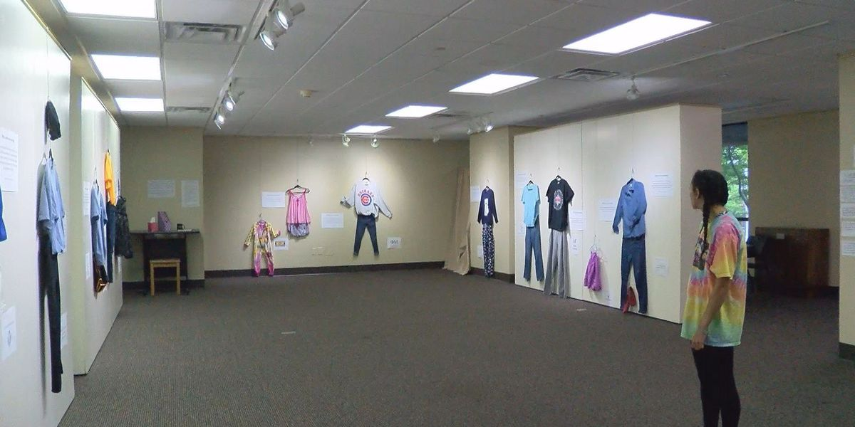 USM exhibit asks 'What were you wearing?'
