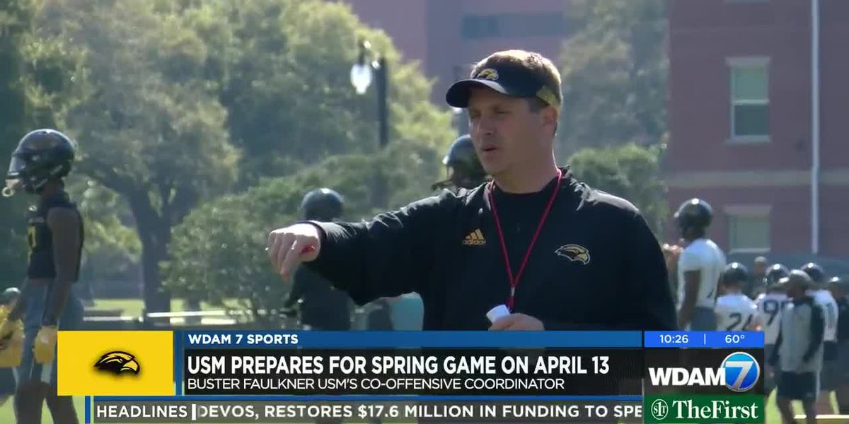 Jay Hopson excited about new USM co-offensive coordinator Buster Faulkner