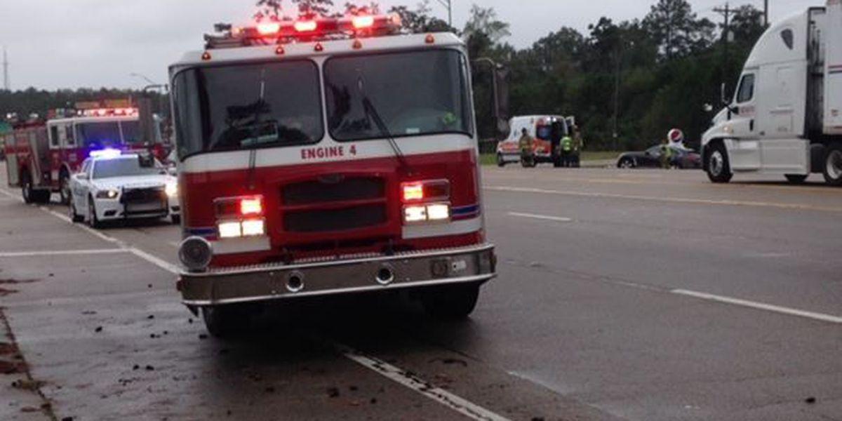 Four vehicle accident in Hattiesburg stalls traffic