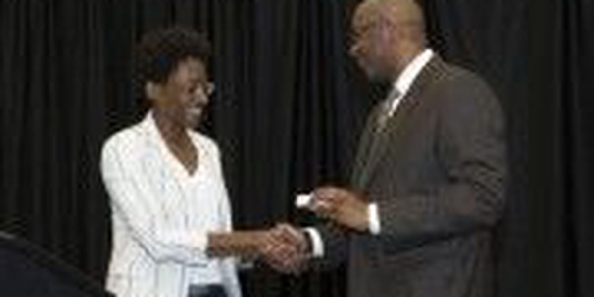 Author honored with Southern Miss Medallion at children's book festival