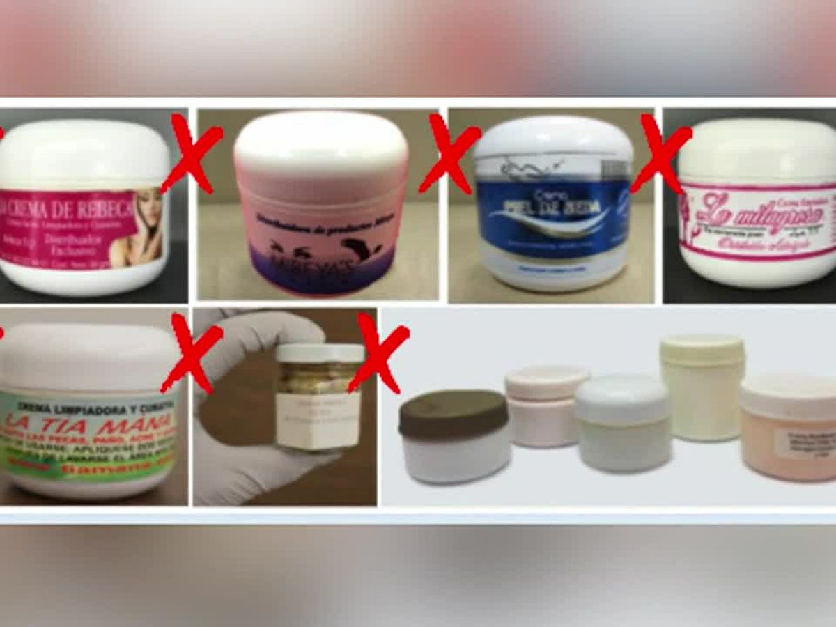 Woman peddled face cream tainted with mercury, agents say