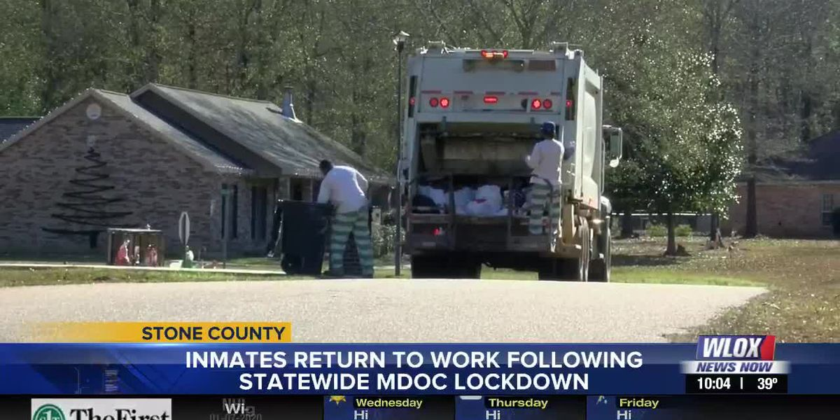 Stone County inmates return to work detail after lockdowns lifted