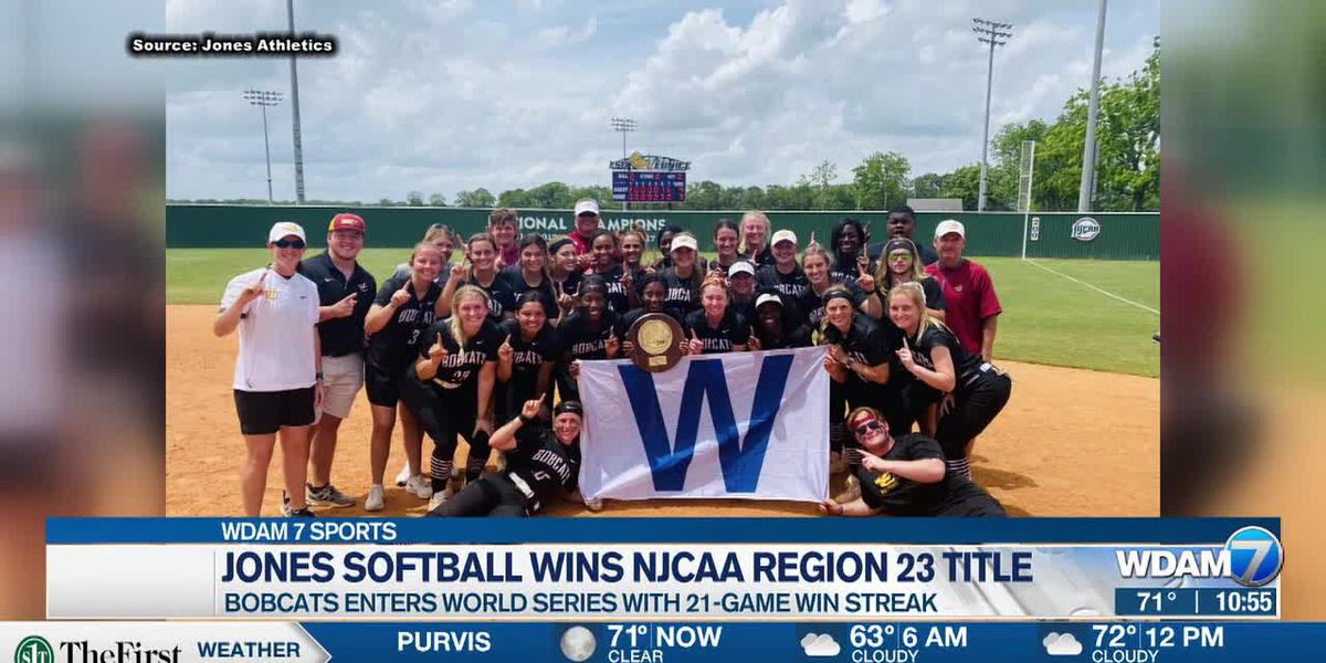 Jones College softball claims Region 23 championship