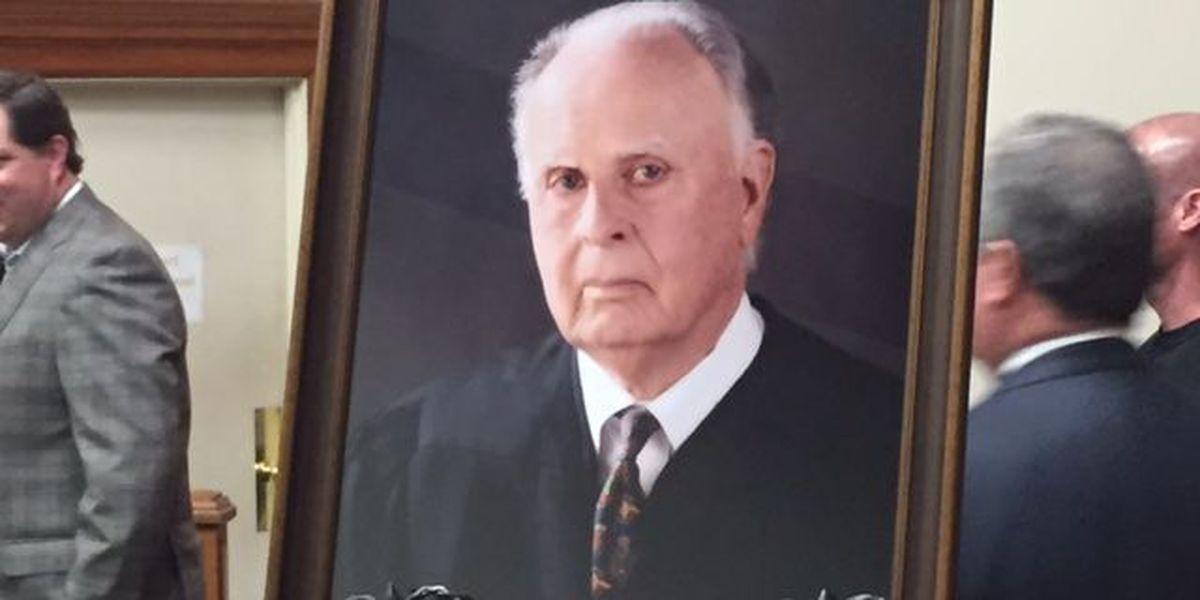 Ceremony held to honor former Judge Billy Joe Landrum