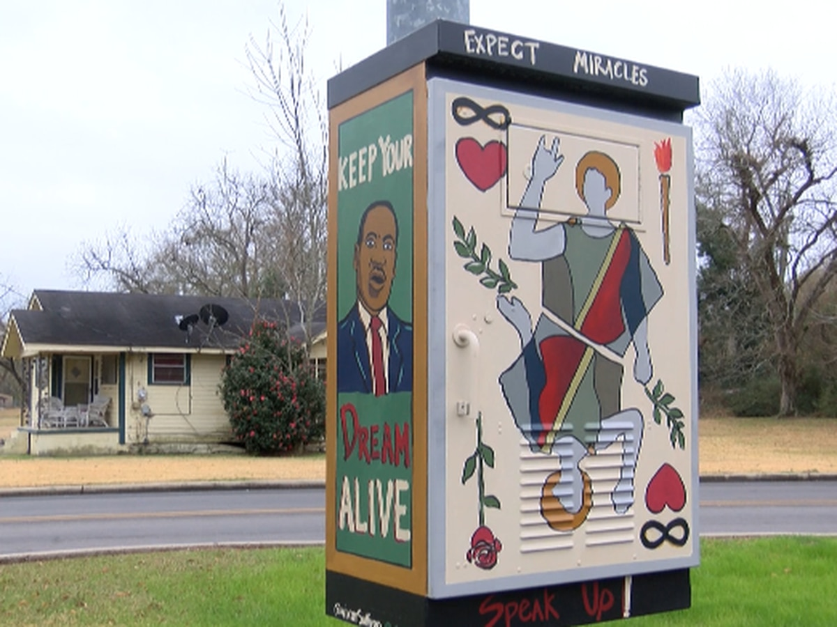 Utility Box Series art project underway in Hattiesburg