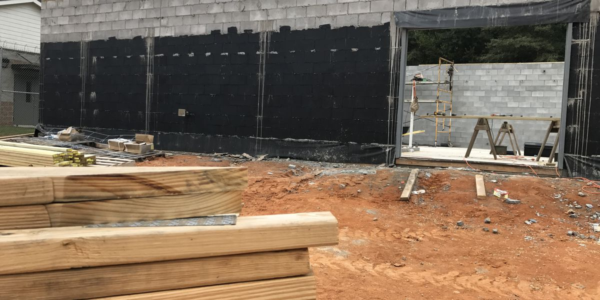 Work continues on new kitchen at Covington Co. Law Enforcement Complex